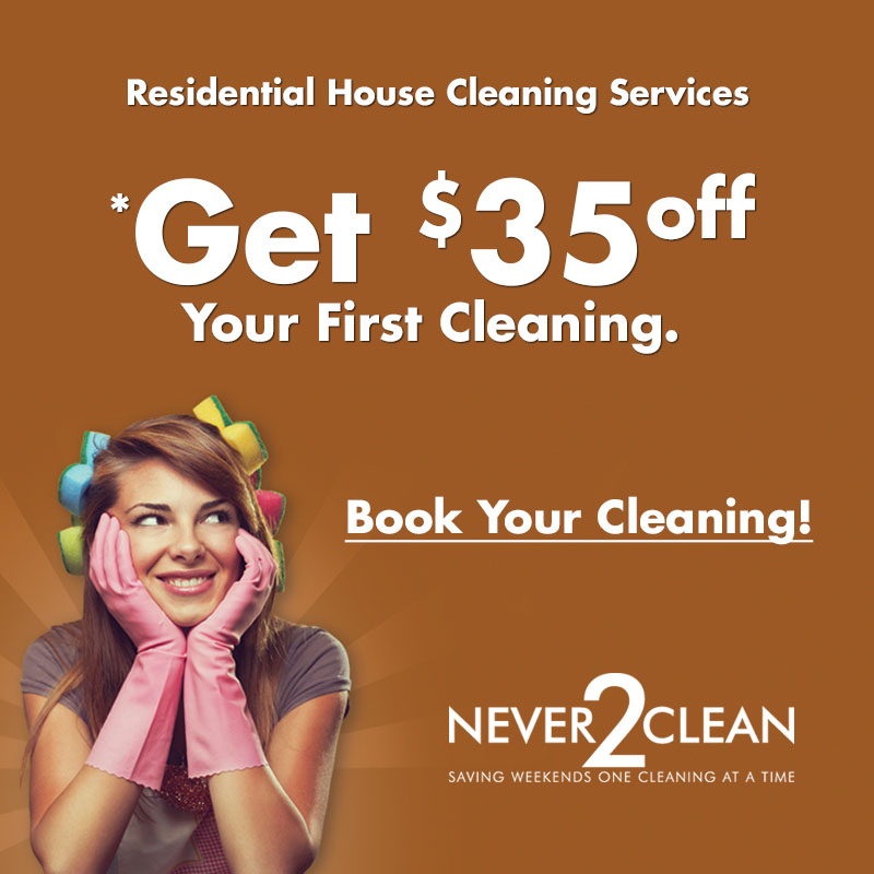 $35 Off Ottawa House Cleaning Services